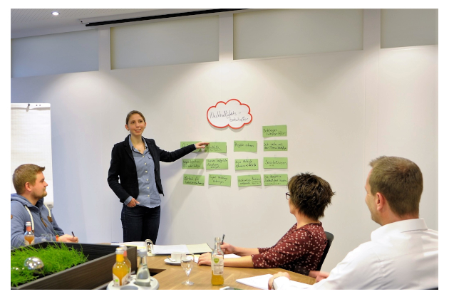Nachhaltigkeit in unserer Unternehmenskultur